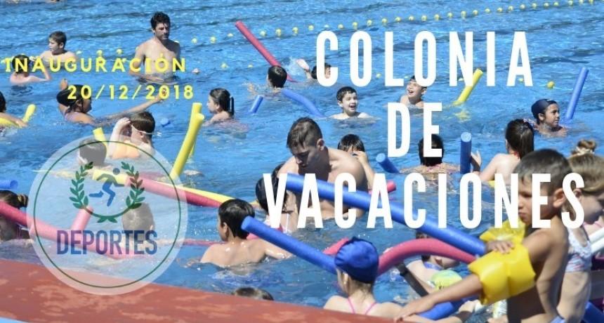 INAUGURACIÓN DE LA COLONIA DE VACACIONES