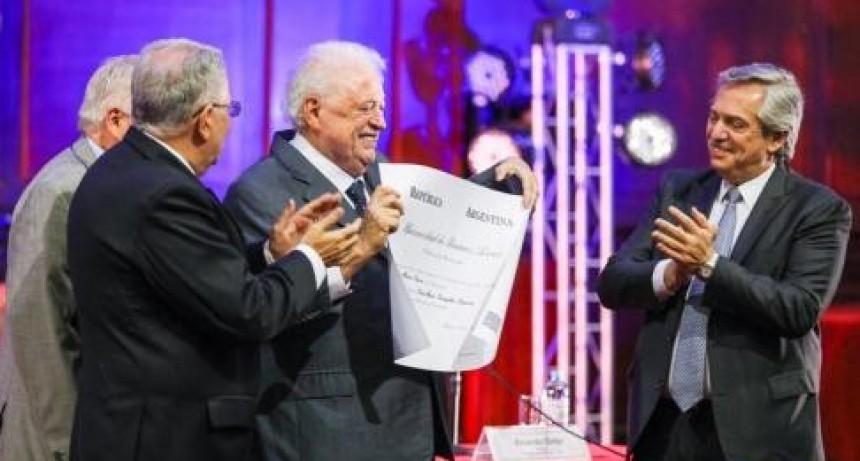"""Con ovaciones a """"Wado"""" De Pedro, Carlos Zannini y Ginés González García, Alberto Fernández les tomó juramento a los integrantes de su gabinete"""