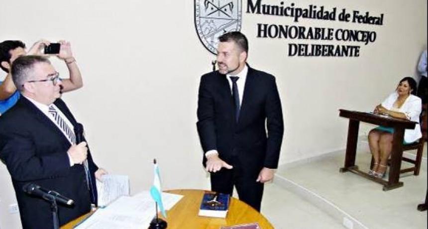 Con los Concejales Electos se llevó a cabo la jura de Gerardo Ramón Chapino y Rubén Wetzell por un nuevo periodo de gobierno