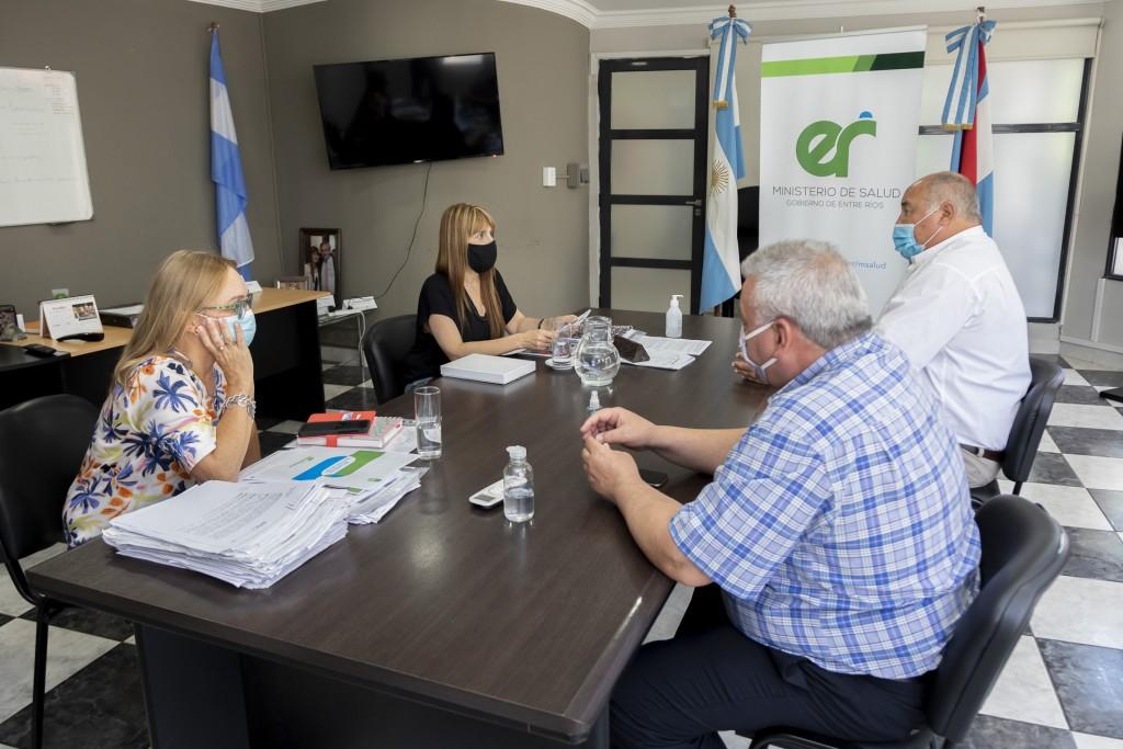 La Ministra de Salud interviene en el cortocircuito entre el Iosper y la Federación Médica