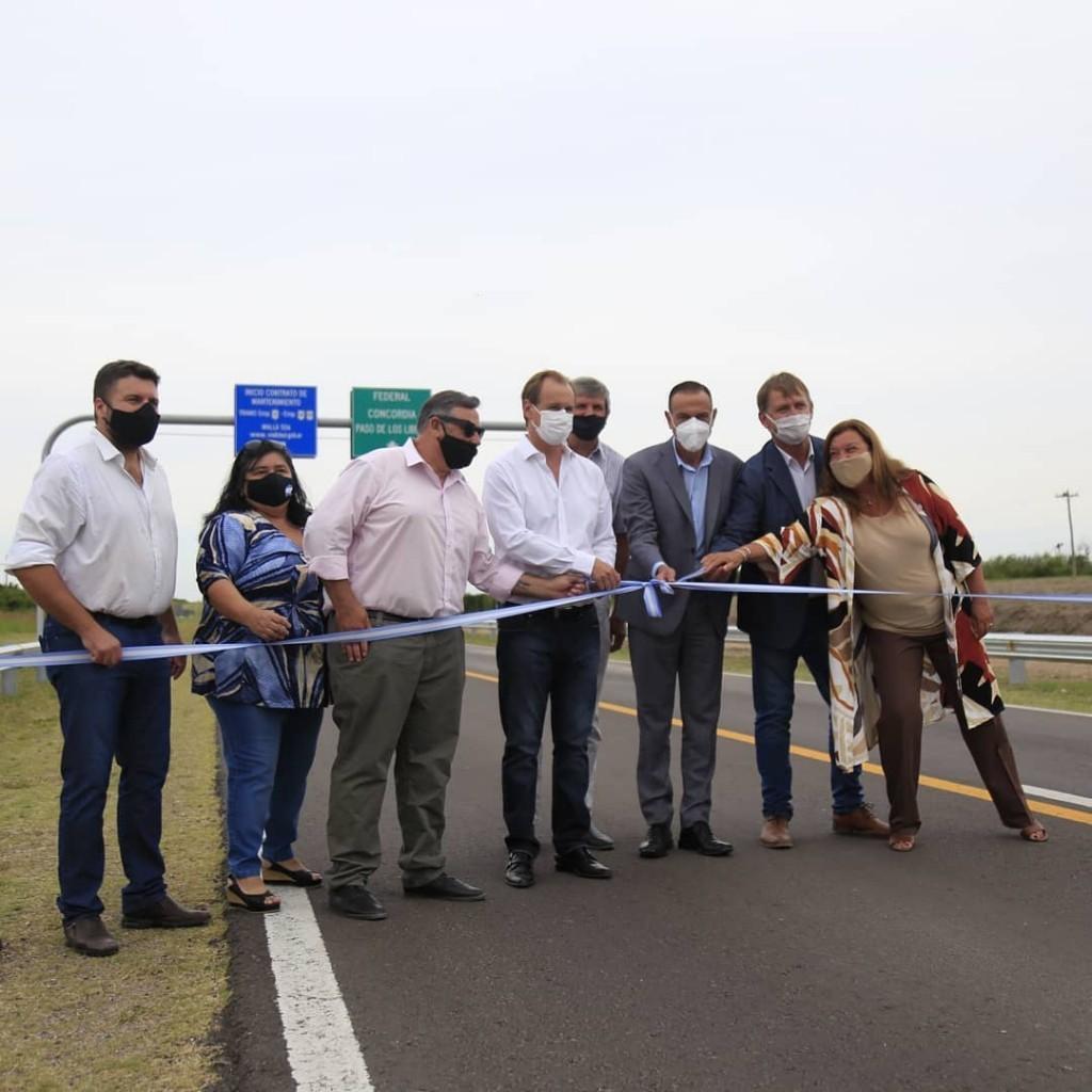 Rehabilitaron 140 kilómetros de la RN 127, en el tramo comprendido entre El Pingo y Federal - Después de mucho sufrir y esperar -